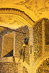 Capela de Ossos - Chapel of the Bones, San Francisco Church, Evora, Alto Alentejo, Portugal