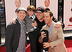 HOLLYWOOD, CA - APRIL 07: Sean Hayes, Max Charles, Chris Diamantopoulos and Will Sasso attend the Los Angeles premiere of 'The Three Stooges' at Grauman's Chinese Theater on April 7, 2012 in Hollywood, California.