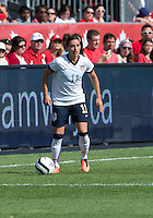 02 June 2013: U.S Women's National Soccer Team defender Ali Krieger #11in action during an International Friendly soccer match between the U.S. Women's National Soccer Team and the Canadian Women's National Soccer Team at BMO Field in Toronto, Ontario.<br /> The U.S. Women's National Team Won 3-0.