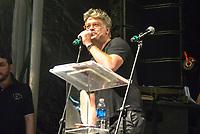 RIO DE JANEIRO, RJ, 28.07.2018 - LULA-LIVRE - Fábio Assunssão durante Festival Lula Livre na Lapa, centro do Rio de Janeiro neste sábado, 28.(Foto: Clever Felix/Brazil Photo Press)