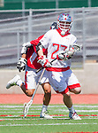 Palos Verdes, CA 03/26/16 - Jack Quinn (Palos Verdes #23) in action during the CIF Boys Lacrosse game between San Clemente Tritons and the Palos Verdes Seakings at Palos Verdes High School.  Palos Verdes defeated San Clemente 11-6