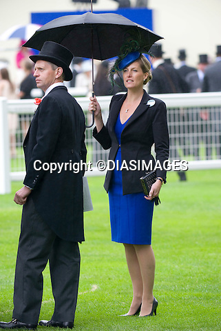 "SOPHIE,COUNTESS OF WESSEX.braves the rain on the second day of Royal Ascot, the premier race event of the calendar, Ascot_15/11/2011.Mandatory Credit Photo: ©DIAS-DIASIMAGES..**ALL FEES PAYABLE TO: ""NEWSPIX INTERNATIONAL""**..IMMEDIATE CONFIRMATION OF USAGE REQUIRED:.DiasImages, 31a Chinnery Hill, Bishop's Stortford, ENGLAND CM23 3PS.Tel:+441279 324672  ; Fax: +441279656877.Mobile:  07775681153.e-mail: info@newspixinternational.co.uk"