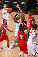 STANFORD, CA - DECEMBER 13:  Melanie Murphy of the Stanford Cardinal during Stanford's 100-62 win over the Fresno State Bulldogs on December 13, 2008 at Maples Pavilion in Stanford, California.