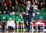 S&ouml;dert&auml;lje 2015-10-01 Basket Basketligan S&ouml;dert&auml;lje Kings - Uppsala Basket :  <br /> S&ouml;dert&auml;lje Kings tr&auml;nare headcoach coach Vedran Bosnic ler under matchen mellan S&ouml;dert&auml;lje Kings och Uppsala Basket <br /> (Foto: Kenta J&ouml;nsson) Nyckelord:  Basket Basketligan S&ouml;dert&auml;lje Kings SBBK T&auml;ljehallen Uppsala Seriepremi&auml;r Premi&auml;r tr&auml;nare manager coach portr&auml;tt portrait glad gl&auml;dje lycka leende ler le