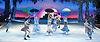 Swan Lake on Ice<br /> at The Royal Albert Hall, London, Great Britain <br /> <br /> press photocall<br /> 18th May 2012 <br /> <br /> <br /> Trio<br /> Olena Pyatash (black swan) - Odile<br /> Olga Sharutenko (white swan) - Odette<br /> Andrey Penkin - Prince Siegfried<br /> <br /> Zontic<br /> Bagden Berezenko<br /> Andrey Penkin<br /> Danii Tataurov<br /> Olga Tataurova<br /> Yury Samanovos<br /> Yulia Odintsova<br /> Ekaterina Ivleva<br /> Anton Parkhomenko<br /> Oleg Tazetdinov<br /> Yulia Ashchevlova<br /> Vasilli Ancteev<br /> Anastasia Ignateyua<br /> <br /> <br /> <br /> Photograph by Elliott Franks