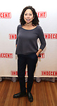 """Mimi Lieber attends the """"Indecent"""" Media Day at Playwrights Horizons on March 13, 2017 in New York City."""