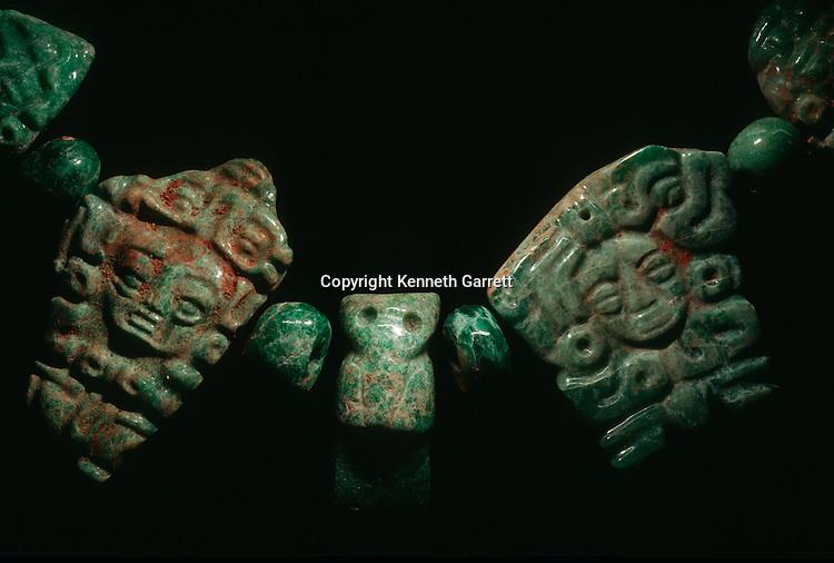 Maya; Ancient Cultures; The Americas; Copan; Honduras; Jade; Scribe's Tomb
