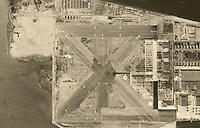 aerial photograph Naval Air Station Alameda, California