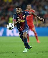 FUSSBALL  CHAMPIONS LEAGUE  HALBFINALE  RUECKSPIEL  2012/2013      FC Barcelona - FC Bayern Muenchen              01.05.2013 Alex Song (Barca) Einzelaktion am Ball