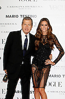 Mario Testino and Izabel Goulart attends Vogue and Mario Testino photocall in Madrid. November 27, 2012. (ALTERPHOTOS/Caro Marin) /NortePhoto