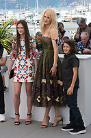 Nicole Kidman, Raffey Cassidy &amp; Sunny Suljic at the photocall for &quot;The Killing of a Sacred Deer&quot; at the 70th Festival de Cannes, Cannes, France. 22 May 2017<br /> Picture: Paul Smith/Featureflash/SilverHub 0208 004 5359 sales@silverhubmedia.com