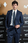 Model Andres Velencoso at photocall for Velvet Coleccion event in Madrid on Wednesday, 18 December 2019.<br /> (ALTERPHOTOS/David Jar)