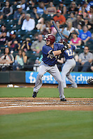 ***Temporary Unedited Reference File***Frisco RoughRiders right fielder Preston Beck (5) during a game against the Corpus Christi Hooks on April 23, 2016 at Whataburger Field in Corpus Christi, Texas.  Corpus Christi defeated Frisco 3-2.  (Mike Janes/Four Seam Images)