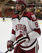 Kevin Guiltinan (Harvard - 6) - The Harvard University Crimson defeated the Princeton University Tigers 3-2 on Friday, January 31, 2014, at the Bright-Landry Hockey Center in Cambridge, Massachusetts.