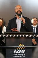 SÃO PAULO, SP, 25.07.2019 - POLITICA-SP - Bruno Covas, Prefeito de São Paulo, participa da inauguração do novo prédio da Junta Comercial do Estado de São Paulo (Jucesp), nesta quinta-feira, 25. ( Foto Charles Sholl/Brazil Photo Press/Folhapres)