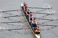 Crew: 108   Mortlake Anglian &amp; Alpha Boat Club C   Intermediate<br /> <br /> Women's Eights Head of the River (WEHoRR) 2018<br /> <br /> To purchase this photo, or to see pricing information for Prints and Downloads, click the blue 'Add to Cart' button at the top-right of the page.
