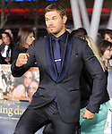 Kellan Lutz attends The world premiere of Summit Entertainment's THE TWILIGHT SAGA: BREAKING DAWN -PART 2 held at  Nokia Theater at L.A. Live in Los Angeles, California on November 12,2012                                                                               © 2012 DVS / Hollywood Press Agency
