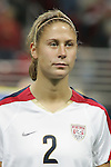 Oct 13 2007:   Marian Dalmy (2) of the US WNT.  The US Women's National Team defeated Mexico 5-1 at the Edward Jones Dome in St. Louis on October 13th in their first of three expo matches.
