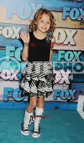 WEST HOLLYWOOD, CA - JULY 23: Maggie Elizabeth Jones arrives at the FOX All-Star Party on July 23, 2012 in West Hollywood, California. / NortePhoto.com<br /> <br /> **CREDITO*OBLIGATORIO** *No*Venta*A*Terceros*<br /> *No*Sale*So*third* ***No*Se*Permite*Hacer Archivo***No*Sale*So*third*©Imagenes*con derechos*de*autor©todos*reservados*. /eyeprime
