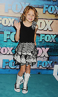 WEST HOLLYWOOD, CA - JULY 23: Maggie Elizabeth Jones arrives at the FOX All-Star Party on July 23, 2012 in West Hollywood, California. / NortePhoto.com<br />