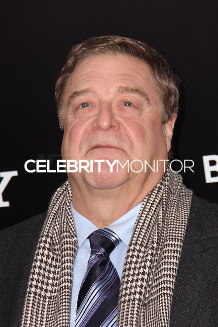 """NEW YORK, NY - FEBRUARY 04: John Goodman at the New York Premiere Of Columbia Pictures' """"The Monuments Men"""" held at Ziegfeld Theater on February 4, 2014 in New York City, New York. (Photo by Jeffery Duran/Celebrity Monitor)"""