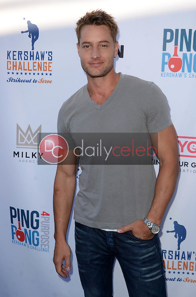 Justin Hartley<br /> at Clayton Kershaw's Ping Pong 4 Purpose Celebrity Tournament to Benefit Kershaw's Challenge, Dodger Stadium, Los Angeles, CA 08-11-16<br /> David Edwards/DailyCeleb.com 818-249-4998