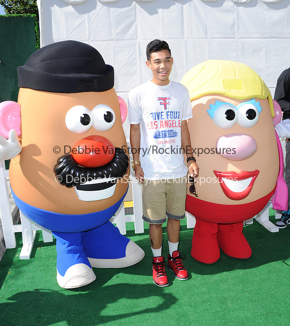 Roshon Fegan at Variety's 7th Annual Power of Youth Event held at Universal Backlot in Universal City, California on July 27,2013                                                                   Copyright 2013 Hollywood Press Agency