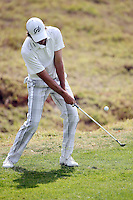 02/15/14 Pacific Palisades, CA: Aaron Baddeley during the third round of the Northern Trust Open held at the Riviera Country Club.