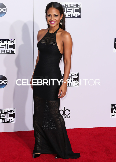 LOS ANGELES, CA, USA - NOVEMBER 23: Christina Milian arrives at the 2014 American Music Awards held at Nokia Theatre L.A. Live on November 23, 2014 in Los Angeles, California, United States. (Photo by Xavier Collin/Celebrity Monitor)
