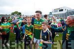 Paul Murphy poses with fans after the Munster Senior Football Final at Fitzgerald Stadium on Sunday.