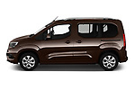 Car Driver side profile view of a 2019 Opel Combo-Life Innovation 5 Door Mini Mpv Side View