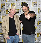 Frank Miller and Robert Rodriguez at the Sin City A Dame To Kill For Comic-Con 2014  held at The Hilton Bayfront Hotel in San Diego, Ca. July 26, 2014.