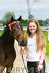 At the Kingdom County Fair in Ballybeggan on Sunday were Katie Dineen with Lucy