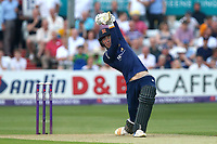 Daniel Lawrence hits four runs for Essex during Essex Eagles vs Surrey, NatWest T20 Blast Cricket at The Cloudfm County Ground on 7th July 2017