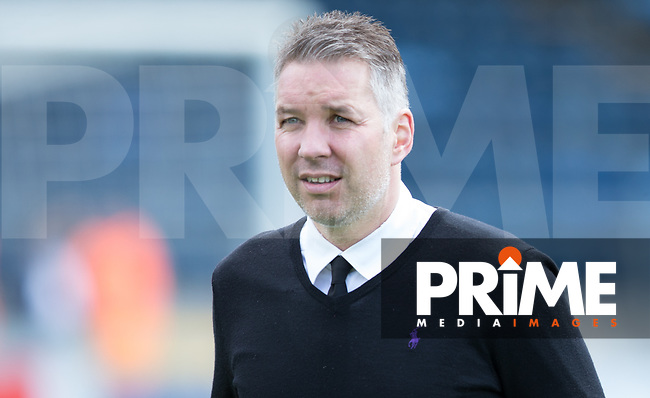 Doncaster Rovers manager Darren Ferguson during the Sky Bet League 2 match between Wycombe Wanderers and Doncaster Rovers at Adams Park, High Wycombe, England on 22 April 2017. Photo by James Williamson / PRiME Media Images.