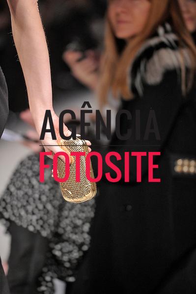 Milão, Itália – 23/02/2013 - Desfile de Bottega Veneta durante o Milano Fashion Week  -  Inverno 2013. <br /> Foto: Firstview/FOTOSITE