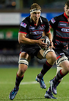 Jamie Ritchie of Edinburgh during the Guinness PRO14 match between Cardiff Blues and Edinburgh Rugby at BT Sport Cardiff Arms Park, Cardiff, Wales on 1 September 2017. Photo by Mark  Hawkins.