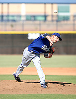 Kyle Smit / Los Angeles Dodgers 2008 Instructional League..Photo by:  Bill Mitchell/Four Seam Images