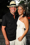 "James Zafereo and Allison Berguin at the ""A Night in Havana""  benefit at Concepcion on W. Alabama  Saturday July 21, 2012.(Dave Rossman/For the Chronicle)"