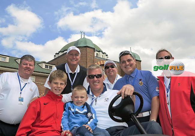 26 SEP 12  Director of Golf Mike Skully and friends at The 39th Ryder Cup at The Medinah Country Club in Medinah, Illinois.
