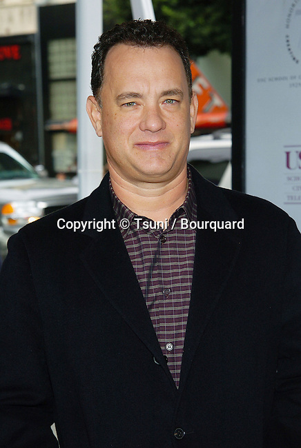 Tom Hanks arriving at the Polar Express Premiere at The Grauman Chinese Theatre in Los Angeles. 11/07/2004.