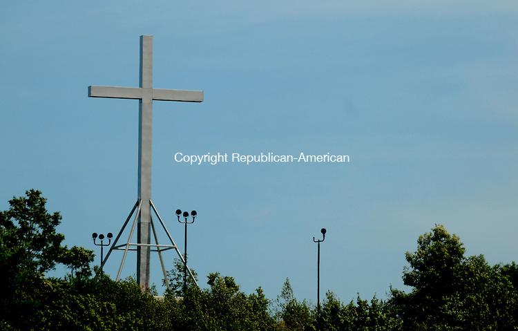 WATERBURY CT 22  JULY, 2010-072210JS03-Holy Land USA in Waterbury. <br /> Jim Shannon Republican-American