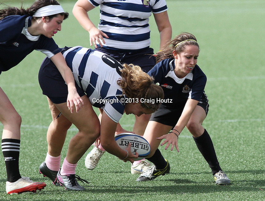 Penn State women's rugby against Michigan State women's rugby on Oct. 12, 2013. Photo/©2013 Craig Houtz