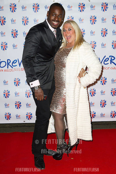 Vanessa Feltz and husband Ben at the Viva Forever Press Night, London. 11/12/2012 Picture by: Simon Burchell / Featureflash