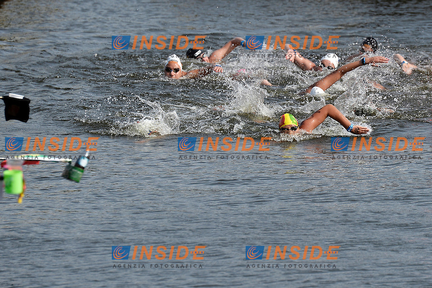 Women <br /> Open Water 25Km <br /> 32nd LEN European Championships  <br /> Berlin, Germany 2014  Aug.13 th - Aug. 24 th<br /> Day05 - Aug. 17<br /> Photo Andrea Staccioli/Deepbluemedia/Insidefoto