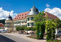 Deutschland, Rheinland-Pfalz, Suedliche Weinstrasse, Bad Bergzabern: Das Schloss Bergzabern | Germany, Rhineland-Palatinate, Southern Wine Route, Bad Bergzabern: Castle Bergzabern