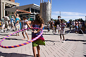 September 4, 2010. Raleigh, North Carolina..Hula Hoopers showed off their talent at the African-American Cultural Festival.