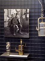 Ausstellung in der Lampenstube, Rammelsberg, Museum und Besucherbergwerk, Goslar, Niedersachsen, Deutschland, Europa, UNESCO-Weltkulturerbe<br /> exhibition in the lamp room, Rammelsberg - Museum and show mine, Goslar, Lower Saxony,, Germany, Europe, UNESCO Heritage Site