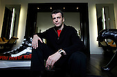Mikhail Prokhorov, Russia's richest man in 2009, at his country residence outside central Moscow. Prokorov made his fortune in investments. In 2009 Forbes estimates his net worth to be USD9.5 billion, making him the world's 40th richest person. Prokhorov is a bachelor and loves kickboxing..Prokhorov sold his 25% stake in Norilsk Nickel to fellow billionaire Oleg Deripaska. He also stepped down as general director of metals outfit Norilsk two year ago after being detained on suspicions that he allegedly made prostitutes available to guests he was entertaining in the glitzy French ski resort Courchevel; though he was never charged. Soon after that, he split with his longtime partner, Vladimir Potanin.