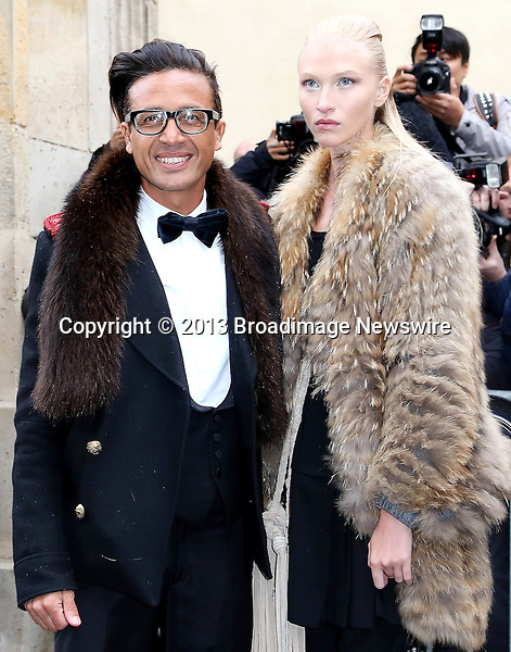 Pictured: Omar Harfouch, Elena<br /> Mandatory Credit &copy; AFFR/Broadimage<br /> Christian Dior:  Paris Fashion Week - Haute Couture S/S 2014 - Outside Arrivals<br /> <br /> 1/20/14, Paris, , France<br /> <br /> Broadimage Newswire<br /> Los Angeles 1+  (310) 301-1027<br /> New York      1+  (646) 827-9134<br /> sales@broadimage.com<br /> http://www.broadimage.com<br /> <br /> <br /> Pictured: Omar Harfouch, Elena<br /> Mandatory Credit &copy; AFFR/Broadimage<br /> Christian Dior:  Paris Fashion Week - Haute Couture S/S 2014 - Outside Arrivals<br /> <br /> 1/20/14, Paris, , France<br /> Reference: 012014_BDG_AFFR_DF_034<br /> <br /> Broadimage Newswire<br /> Los Angeles 1+  (310) 301-1027<br /> New York      1+  (646) 827-9134<br /> sales@broadimage.com<br /> http://www.broadimage.com